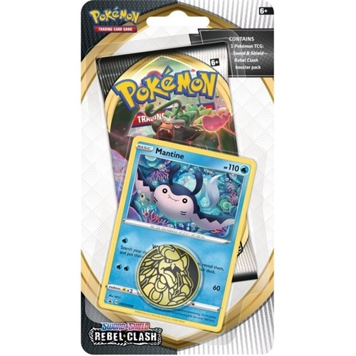 Pokemon Rebel Clash - Checklane Blister Mantine - Pokemon kort